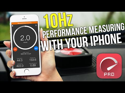 SprintBoxPro - 10Hz Performance Measuring With Your IPhone