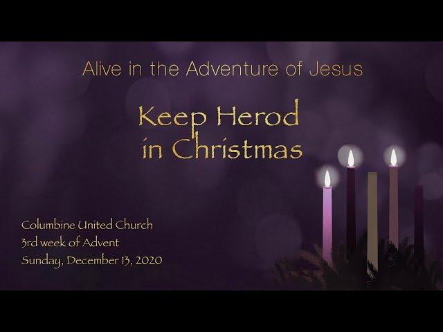 Keep Herod in Christmas