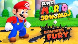 Super Mario 3D World + Bowser's Fury - Full Game Walkthrough
