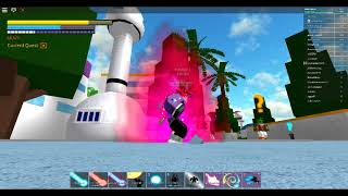 Fusión lv369 y lv364 Stand final de Dragon Ball Z Roblox