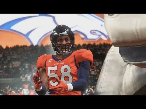 Madden 19 Denver Broncos Vs Oakland Raiders Gameplay