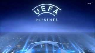 UEFA Champions League 2014 Intro - Ford & Gazprom GER