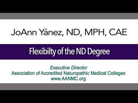 Flexibility of the Naturopathic Doctor Degree