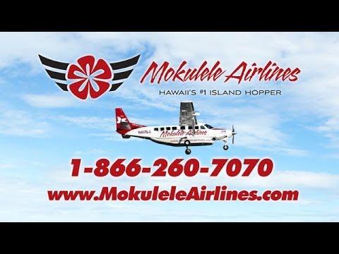 Mokulele Airlines Hawaii #1 Island Hopper