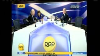 Entrevista a Hernando de Soto en Ampliación de Noticias el 24 de febrero de 2017
