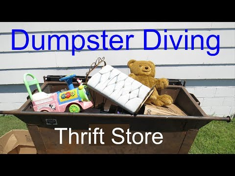 Dumpster Diving at Thrift Store #45