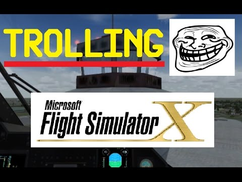 FSX Multiplayer Chaos - Trolling in Miami (Funny)