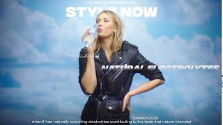 evian water featuring natural electrolytes with Maria Sharapova (6s)