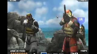 Time crisis 3 : Gameplay Arcade VF