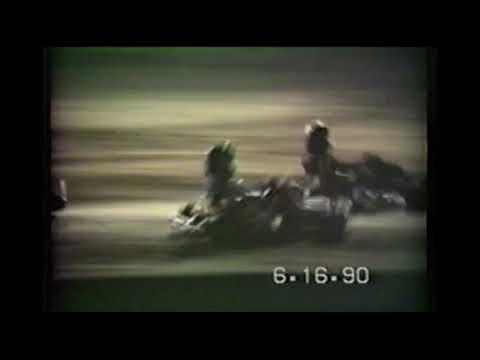 Vintage Go Kart Race, Southern Illinois Raceway SIR near Marion Illinois