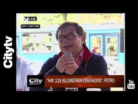 Citytv: Petro explica porque en Bogotá no hay metro