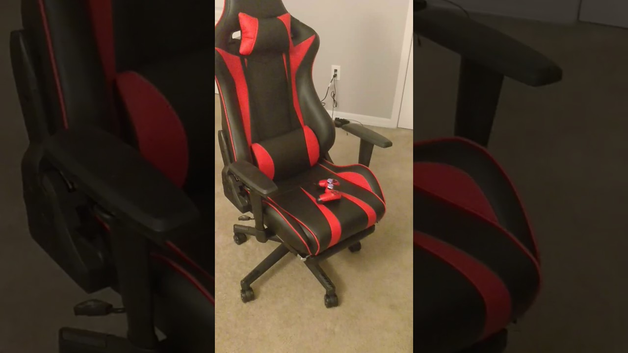 langria gaming chair executive high back pu leather computer