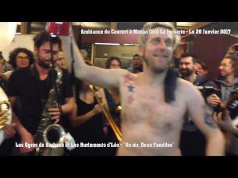 #2 Les Ogres de Barback et Les Hurlements d'Léo Concert Mazan (84) 2017