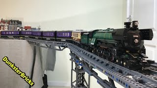 LEGO MOC Train Carriages for Emerald Night, set 10194!