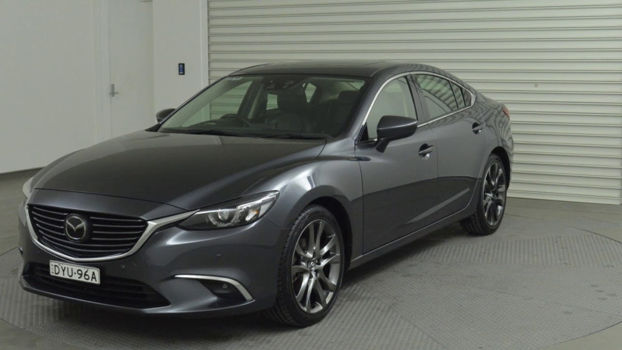 2016 Mazda 6 Gj1032 Atenza Skyactiv Drive Grey Sd Sports Automatic Sedan