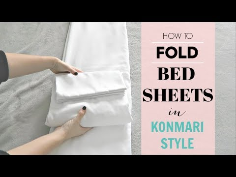KonMari Method Folding | Sheets  *EASY*