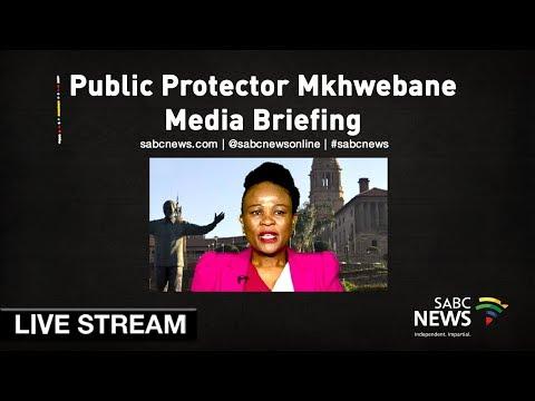 Public Protector Mkhwebane press briefing, 24 May 2019