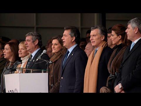 """Macri: """"trabajamos para que el campo siente que le sacaron la pata de encima"""""""