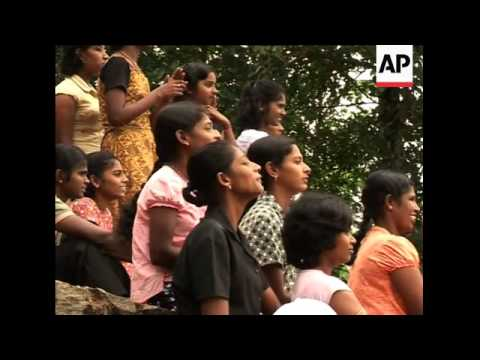 Former LTTE child soldiers in government rehabilitation camps