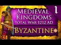 NEW* 1212 AD MEDIEVAL CAMPAIGN! Medieval Kingdoms Total War 1212 AD: Byzantine Campaign Gameplay #1
