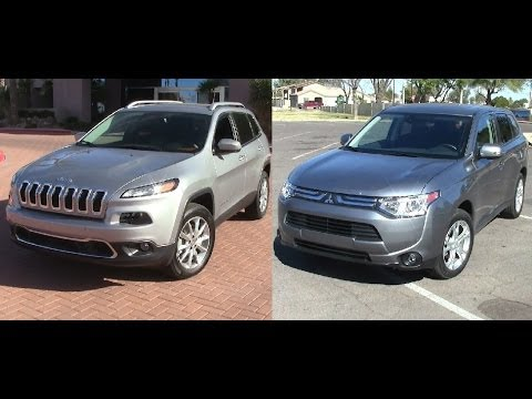Ford Escape Sport >> The new 2014 Jeep Cherokee Limited 4x4 vs the new 2014 ...
