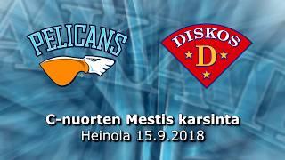 La 15.9.2018 Pelicans C1 Akatemia - Diskos