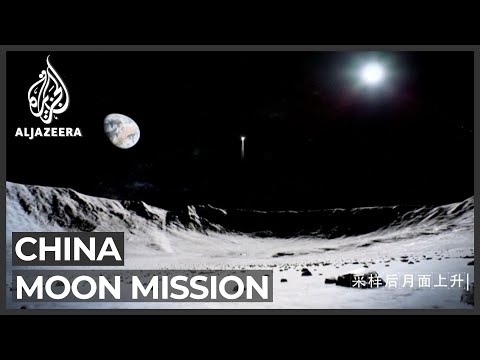 China lands on moon in mission to collect samples from surface