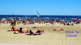The Best Beaches in Barcelona 2017 Spain, Catalonia