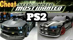 Che*t need for speed most wanted ps2
