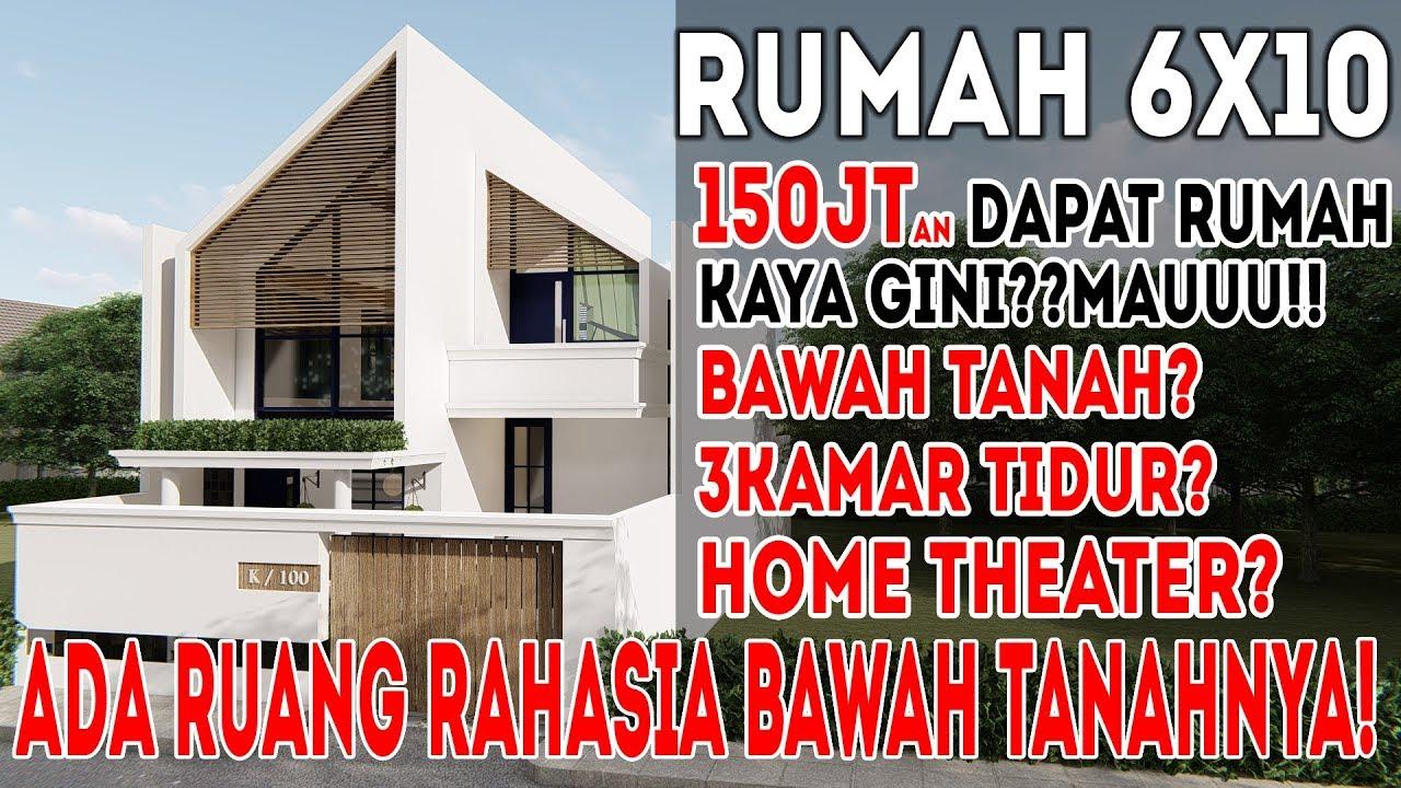 64+ Gambar Desain Rumah Minimalis 3 Kamar Luas Tanah 6X10 Gratis Unduh