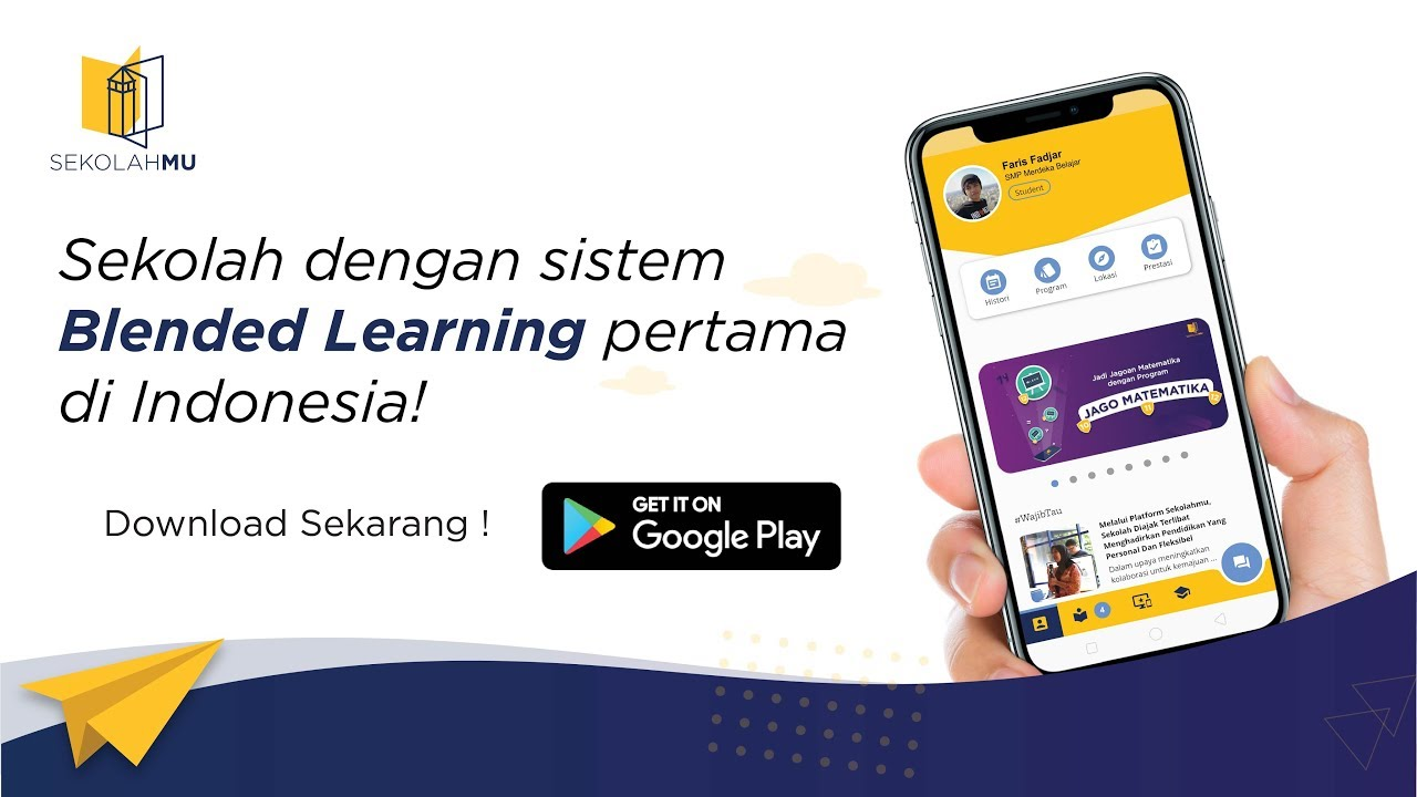 Aplikasi Belajar Online Sekolahmu