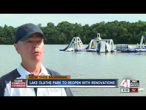 Lake Olathe Reopens This Weekend After Renovations
