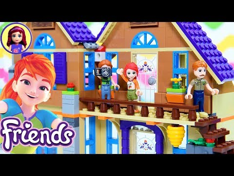 mia's-house-build-part-2-lego-friends-build-review-&-silly-play