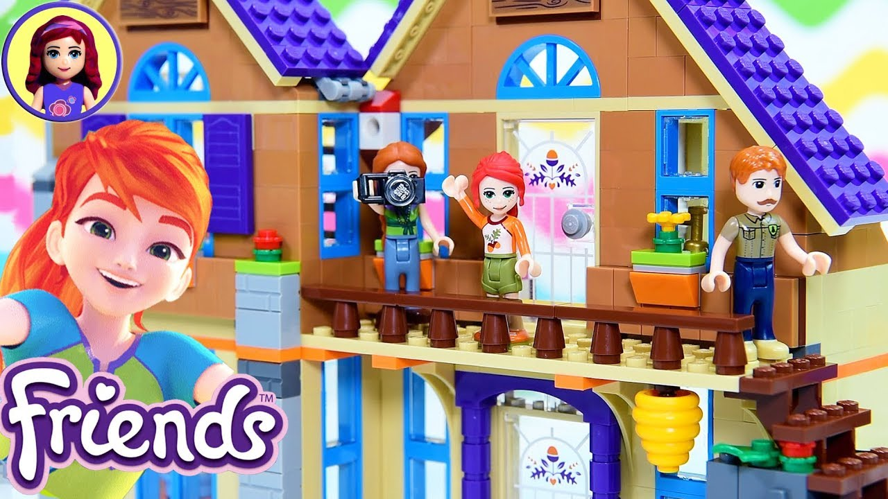 Mias House Build Part 2 Lego Friends Build Review Silly Play