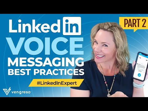 How to Leave a Sales Voicemail using LinkedIn Voice Messaging Part 2 by Viveka von Rosen from YouTube · Duration:  2 minutes 15 seconds