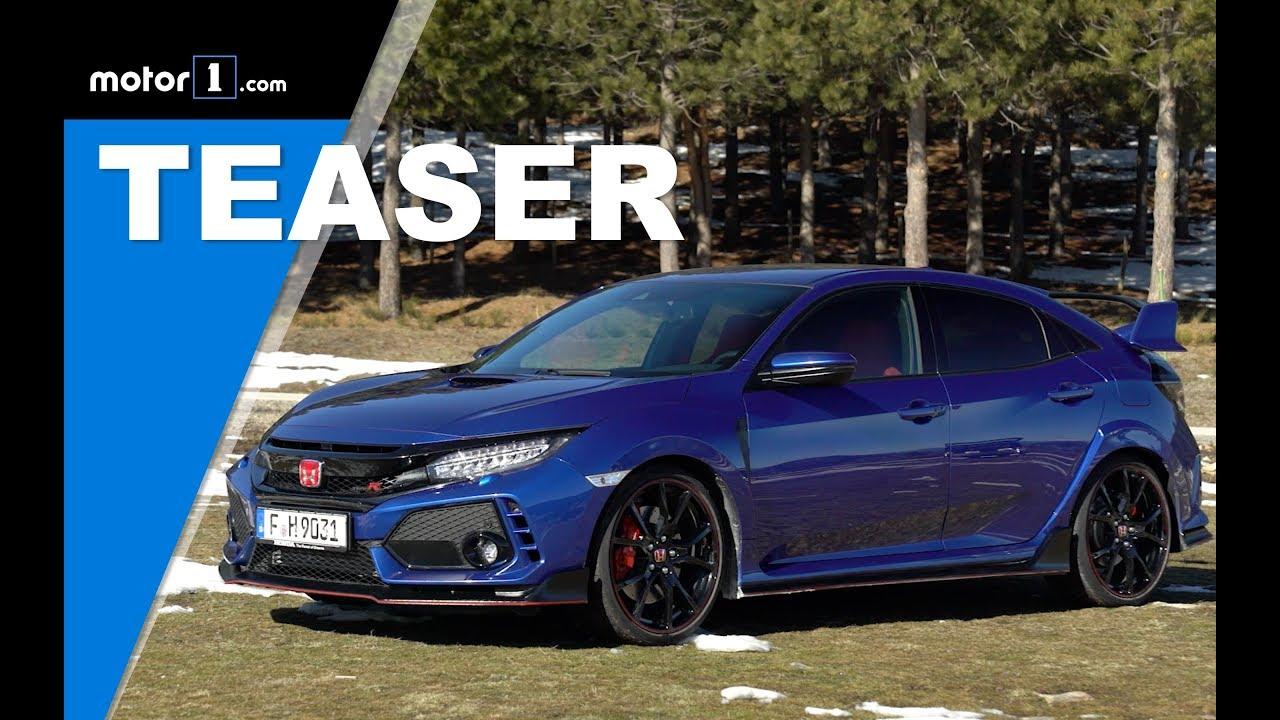 Teaser Honda Civic Type R 2018 / Prueba / Review en ...