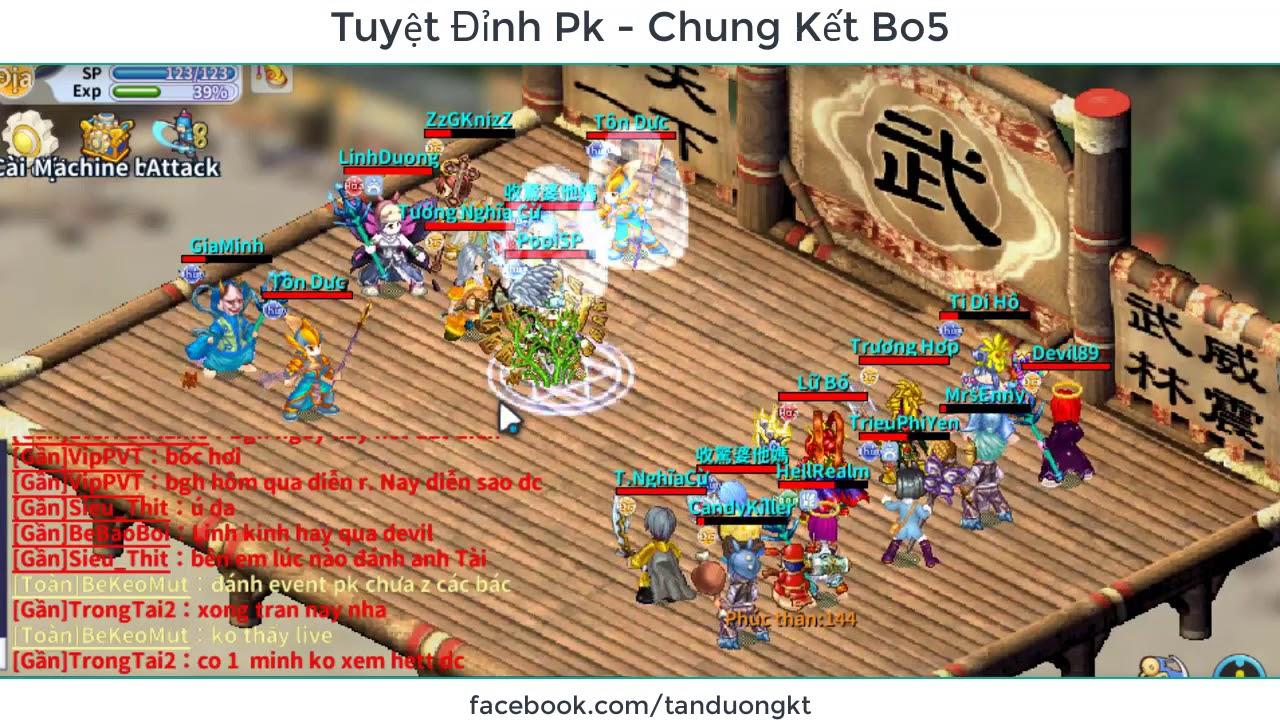 Ts Online Mobile – Chung Kết Tuyệt Đỉnh PK | Bo5