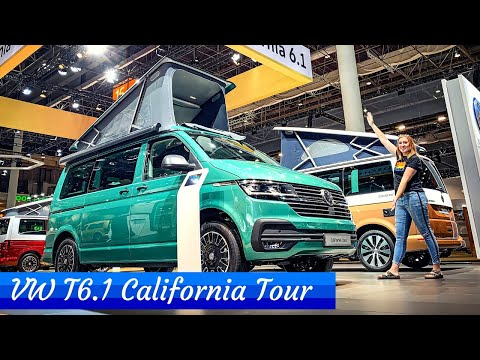 VW T6.1 California Ocean, Coast And Beach - FULL TOUR!