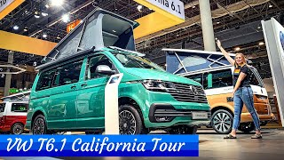 VW T6.1 California Ocean, Coast and Beach - FULL TOUR!