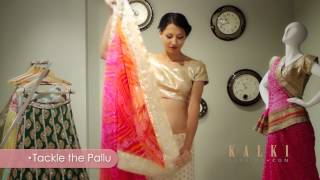 How to Drape a Saree in Gujarati Style | Quick and Easy Steps