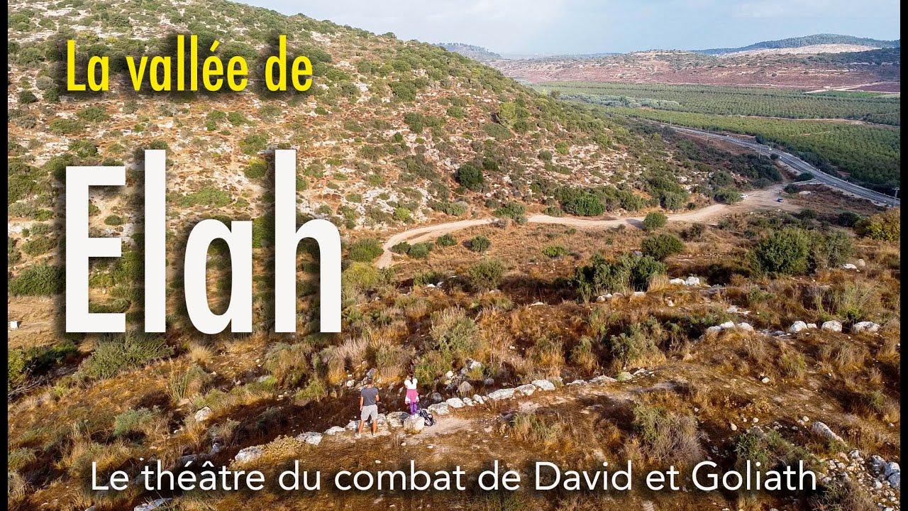 La vallée de Elah