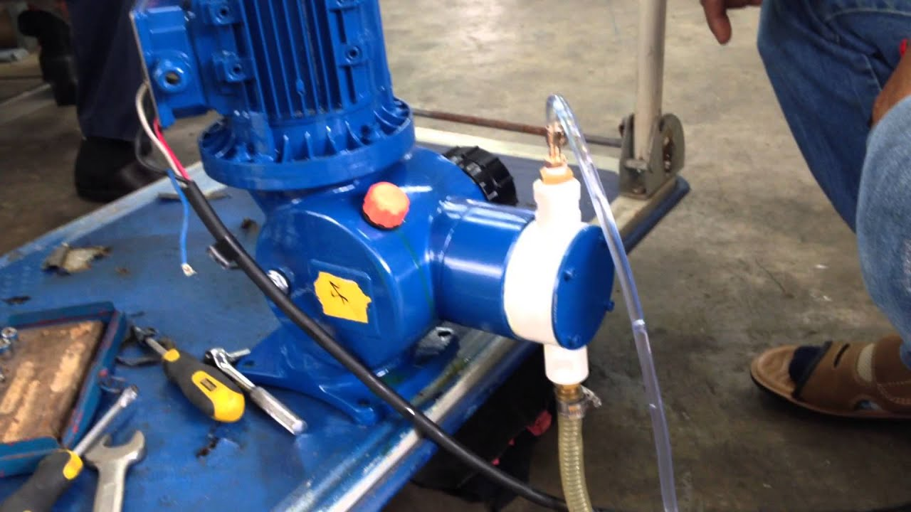 Diaphragm metering pump with 14 tube 1450 rpm youtube diaphragm metering pump with 14 tube 1450 rpm ccuart Gallery