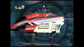 Видео обзор Вертолет радиоуправляемый - LIGHTENING FALCON Auldey (YW858120G) магазин