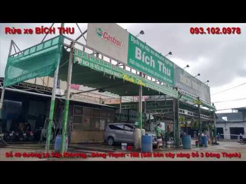Rửa xe Quận 12 Hóc Môn - Bích Thu 0931020978