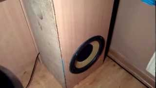 Subwoofer Bass Reflex vs Closed