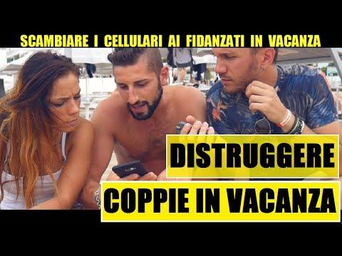 SCAMBIARE I CELLULARI Ai Fidanzati IN VACANZA - Giacomo Hawkman