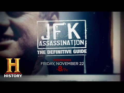 JFK Assassination: The Definitive Guide, Nov. 22nd 8/7c | History