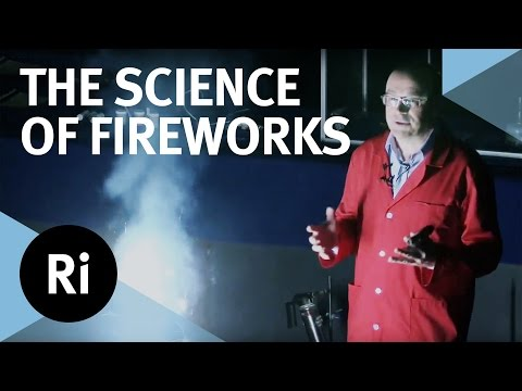 The Science of Fireworks  with Chris Bishop