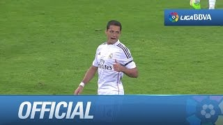 Debut de Chicharito con el Real Madrid