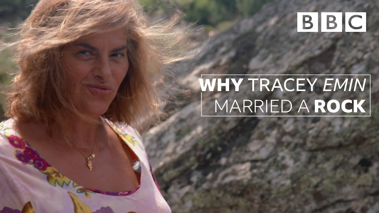 Tracey Emin proves why you don't need no man - BBC